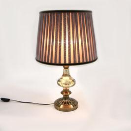 テーブルランプ オシャレ 照明器具 シェードランプ エレガントシック アンティーク調 ランプ パープル LED使用可 778013