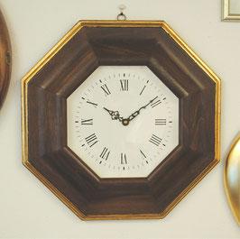 時計 壁掛け オシャレ イタリア製 木製 八角 ウォールクロック イタリア製 ITALY Dekor Toscana デコール トスカーナ