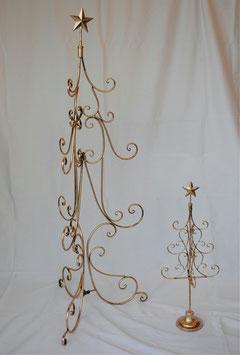 スターツリー オシャレ 120cm 星 ゴールド 金 アイアン ゴージャス 折り畳み式 クリスマスツリー