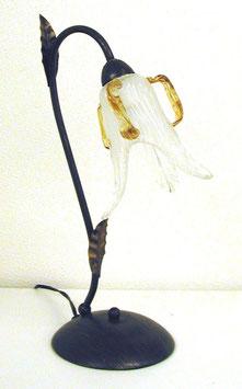 テーブルランプ おしゃれ 花びら アンティーク ガラスシェード アイアン ランプ 1灯式 0725012
