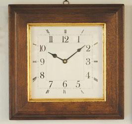 時計 壁掛け オシャレ イタリア製 木製 四角 ウォールクロック スクエア イタリア製 ITALY Dekor Toscana デコール トスカーナ