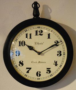 掛時計 おしゃれ ウォール クロック アンティーク クラシック アイアン エスニック・クロック・マーケット Ethnic clock Makerts 306024