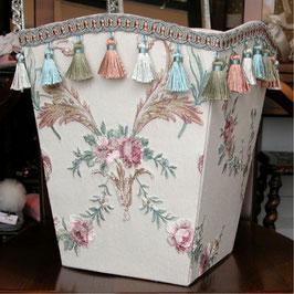 Jennifer Taylor ジェニファーテイラー ダストボックス ゴミ箱 ダストBOX Petit Trianon カルトナージュ 32982DB