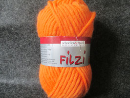Filzwolle orange 50g Farbe: 0047