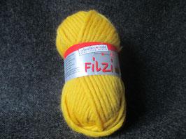Filzwolle gelb 50g Farbe: 0006