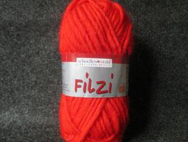 Filzwolle rot 50g Farbe: 0003