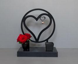 Urn staand model hart