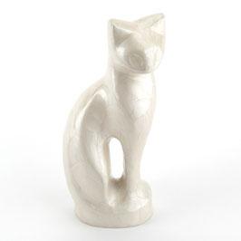 Dierenurn zittende kat