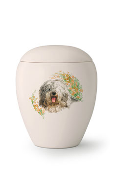 Dierenurn Old English Sheepdog - Bobtail