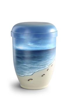 Urn natuurstof airbrush strand