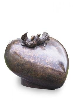 Urn brons duiven