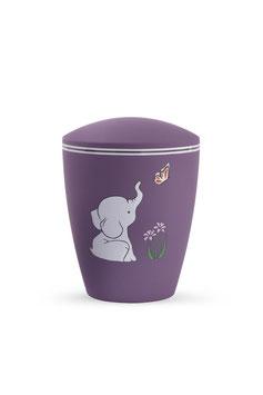 Kinderurn Olifantje violet