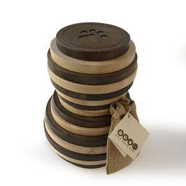 Dierenurn Juno biocolor hout