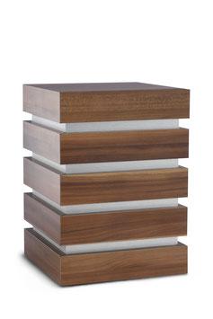 Urn hout Sacrophagus