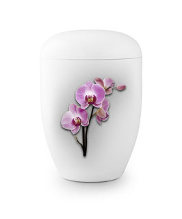 Urn natuurstof orchidee