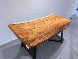 Massivholz Tisch Nussbaum 162cm