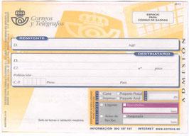 Envío certificado (opcional)