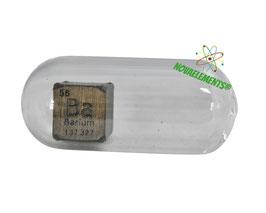 Barium metal density cube 99.9% 10mm