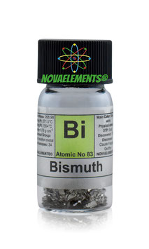 Bismuth metal pieces 10 grams 99,99%