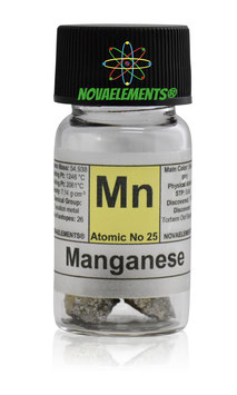 Manganese metal 5 grams 99.5% natural pieces