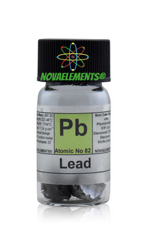 Lead metal chunks 10 grams 99.99%