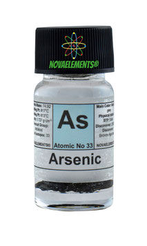 Arsenic sample acrylic casted 99.9%
