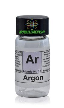 Argon gas ampoule 99,9% NOT EXCITABLE