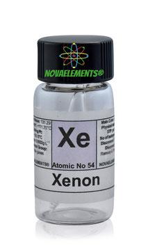 Xenon gas ampoule 99,9% standard pressure