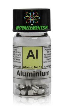 Aluminium metal shots 99,99% 3 grams