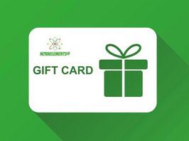 Nova Elements Gift Cards