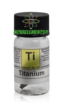 Titanium metal crystalline 1 gram  99.9%
