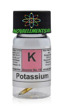 Potassium metal 40mg argon sealed 99.9% pure