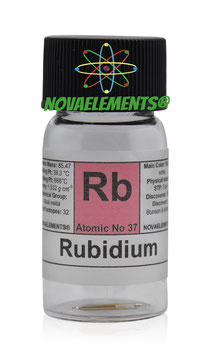 Rubidium metal 20 mg 99,99%