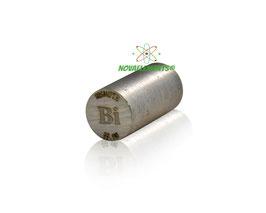 Bismuth metal rod  10x20mm 99,99% 15.3 grams