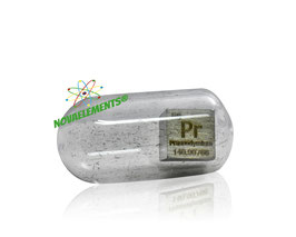 Praseodymium metal density cube 99.9%