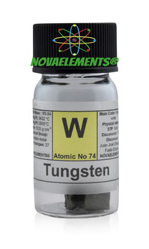 Tungsten metal pieces 5 grams 99,99%