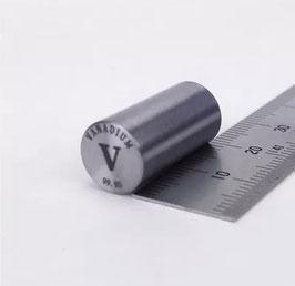 Vanadium metal rod 99.95%