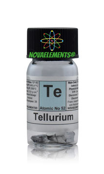 Tellurium metal crystals 2 grams 99,99%