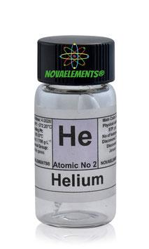 Helium gas 99,9% mini ampoule NOT EXCITABLE