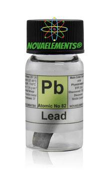 Lead metal sheet 99,99% 25x5mm