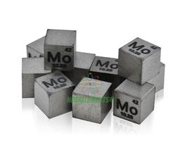 Molybdenum metal density cube 99.99%