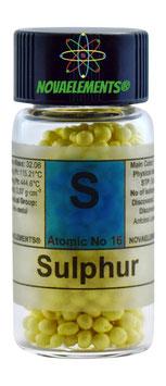 Sulphur pellets 10 grams 99,9%