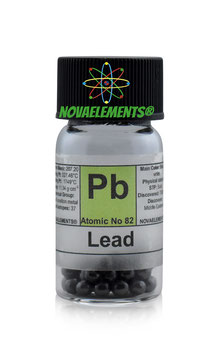 Lead metal pellets 10 grams 99,99%