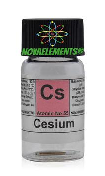 Cesium metal 20 mg 99,99%
