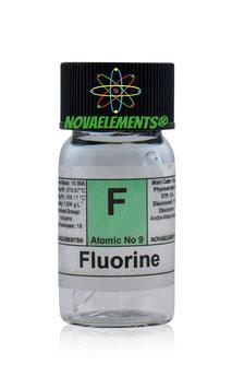 Fluorine/Helium ampoule