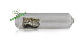 Praseodymium metal 99.99% 1 gram argon sealed ampoule and vial