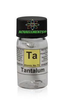 Tantalum metal 1.5 cm 99.99% argon sealed