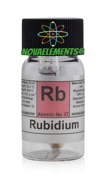 Rubidium metal 1 gram 99,99%