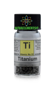 Titanium metal pellets 5 grams 99,9%