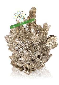 Magnesium metal crystals cluster